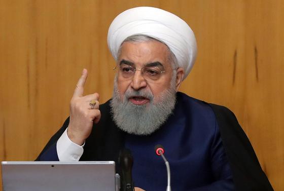 하산 로하니 이란 대통령. [EPA]