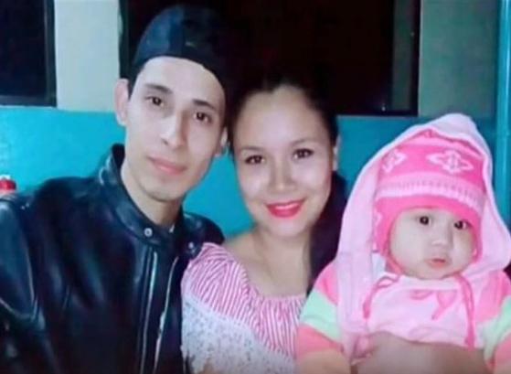 단란했던 마르티네스의 가족사진. [사진 NBC]