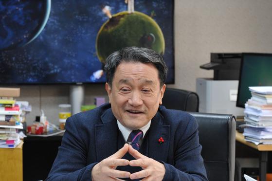 인천대학교 조동성 총장