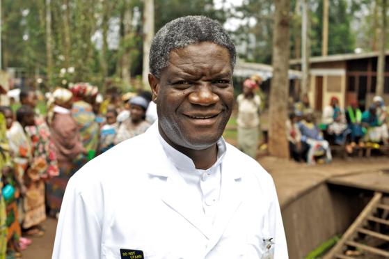 2018 노벨평화상을 수상한 콩고의 산부인과 의사 드니 무퀘게. [이화여대 제공]