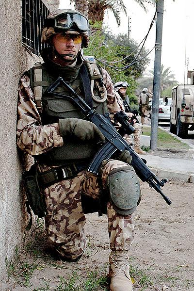 이스라엘제 갈릴 소총으로 무장한 에스토니아 육군 병사. [사진 wikia.org]