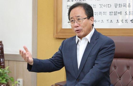 김석준 부산시교육감. 송봉근 기자