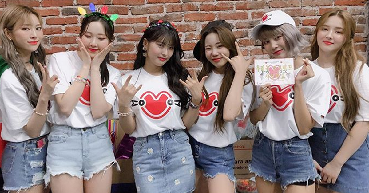 Photo from Instagram @momoland_official