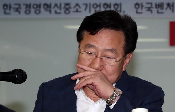 김기문 중소기업중앙회 회장.[뉴스1]