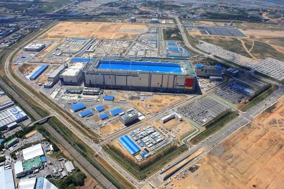 삼성전자 평택캠퍼스 항공사진. [사진 삼성전자]