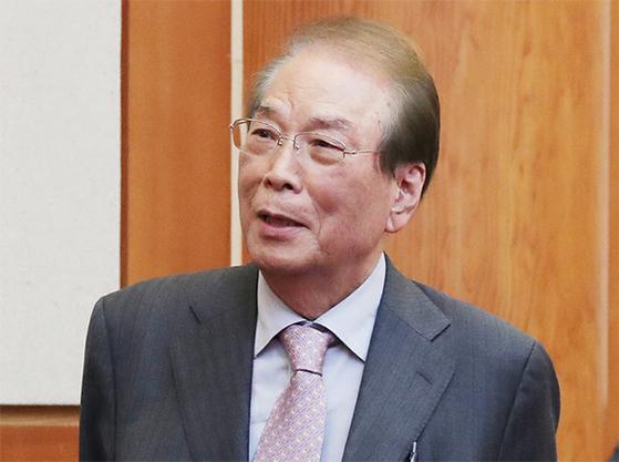 홍성대 상산학원 이사장. [중앙포토]