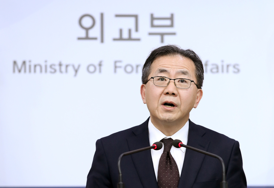 김인철 외교부 대변인. [연합뉴스]