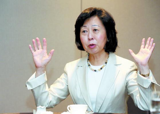 """2일 중앙일보 통화에서 후카가와 유키코 교수는 """"일본 정부는 다양한 보복 카드를 갖고 있다""""고 설명했다. [중앙포토]"""