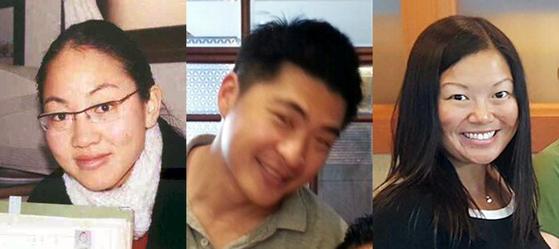 가족 찾기 중인 해외입양인 3명. 사진 왼쪽부터 공재옥씨, 이정식씨, 안나씨다. [사진 박경민 교수]