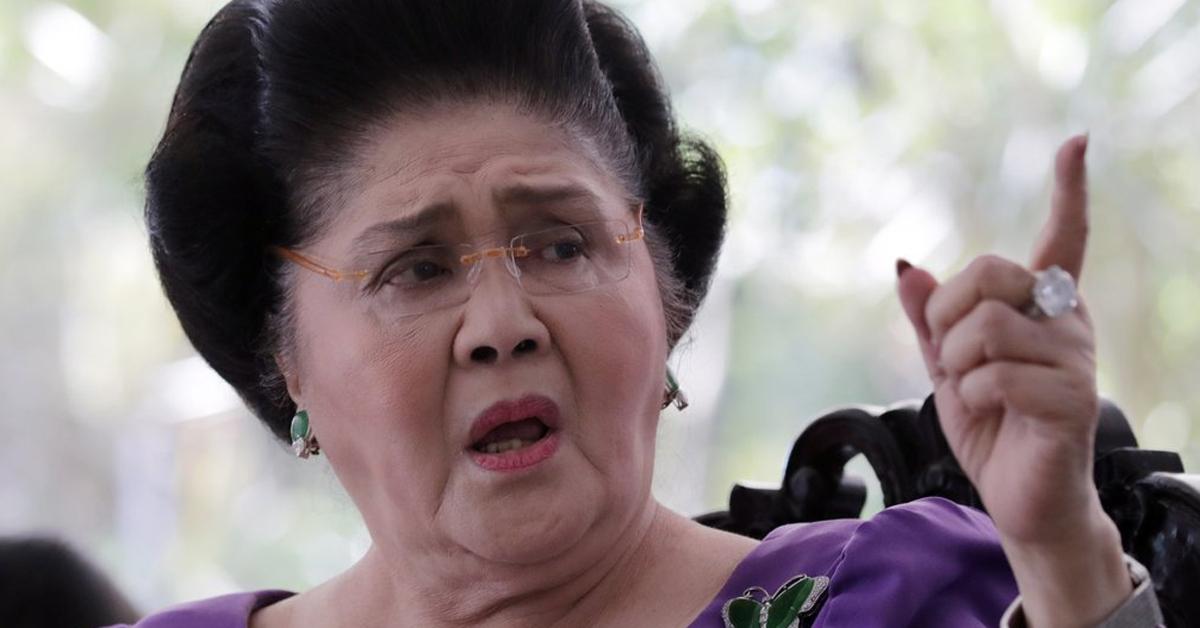 필리핀 '사치의 여왕' 이멜다. [EPA=연합뉴스]