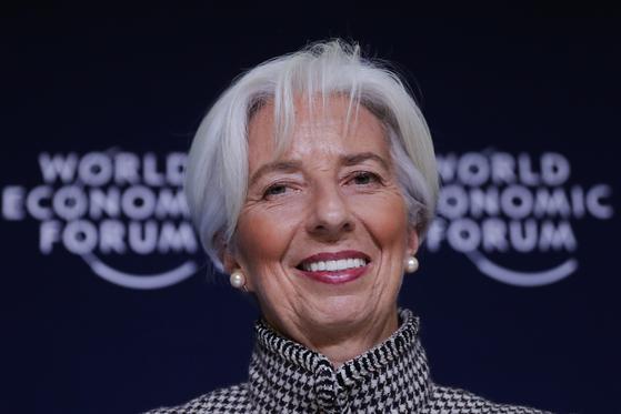 크리스틴 라가르드 IMF 총재. [AP=연합뉴스]
