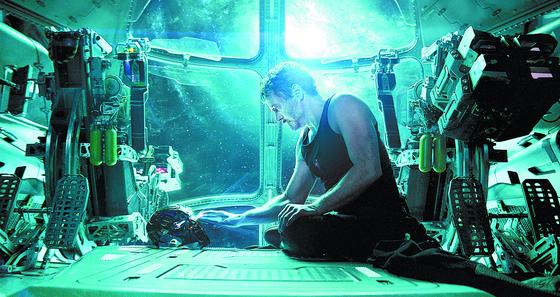 마블스튜디오가 제작한 영화 '어벤져스 엔드게임'의 한 장면 [사진 월트디즈니컴퍼니 코리아]