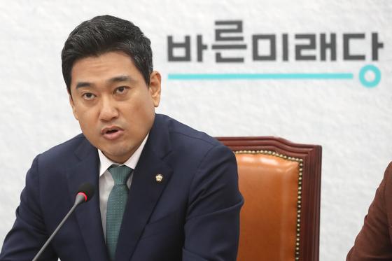 오신환 바른미래당 원내대표. [뉴스1]