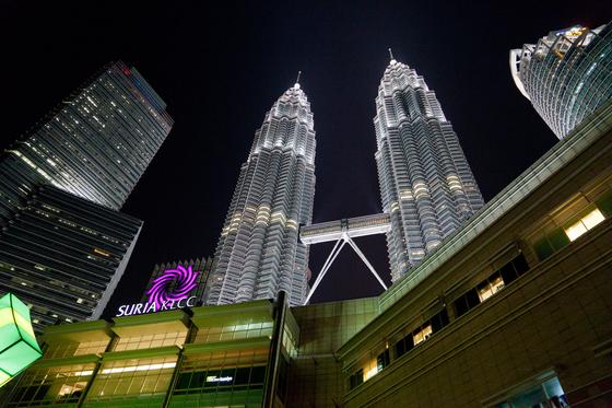 말레이시아 쿠알라룸푸르 시내의 모습. [중앙포토]