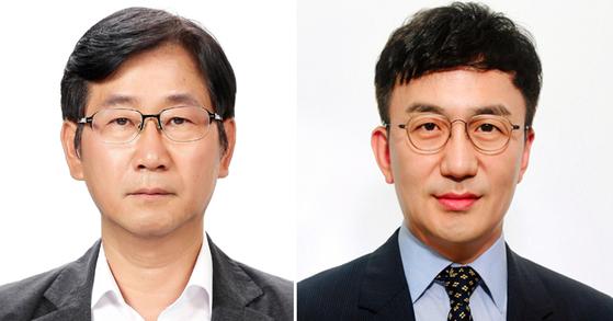 정구철(左), 강정수 (右)