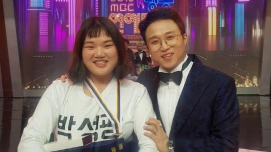 """개그맨 박성광과 매니저 임송 씨가 속해있는 회사 SM C&C가 """"MBC TV 예능 '전지적 참견 시점'을 통해 많은 사랑을 받았던 임송 매니저가 이달 말일로 퇴사하며 프로그램에도 하차하기로 했다""""라고 지난 4월 30일 밝혔다. [사진 박성광 SNS]"""