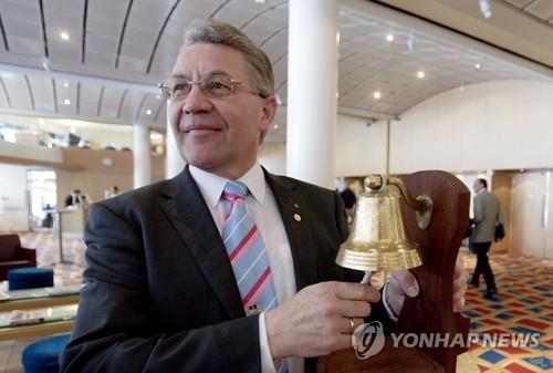 스베인 루드비센 전 노르웨이 수산부장관. [연합뉴스]
