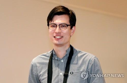 북한에 억류됐다 풀려난 호주 유학생 알렉 시글리. [연합뉴스]