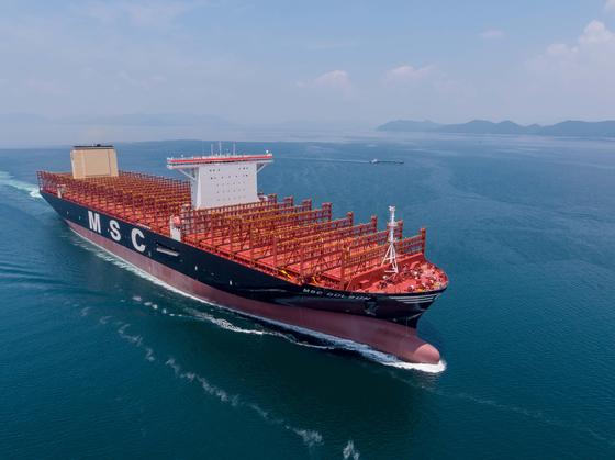 삼성중, 컨테이너 2만3756개 싣는 세계 최대 선박 건조