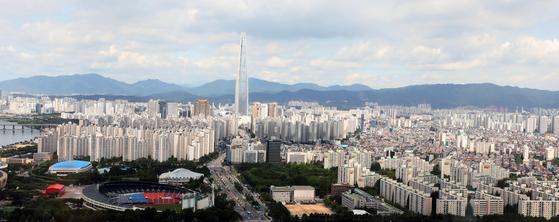 지난달 27일 서울의 아파트 단지들 [뉴스1]