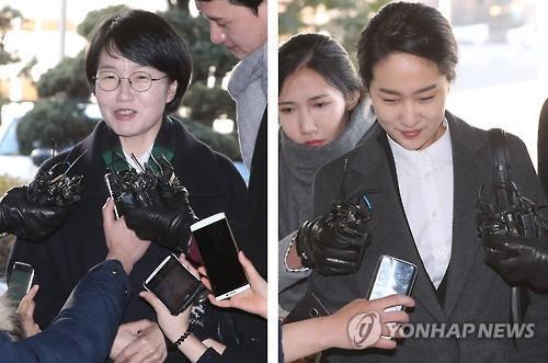 박선숙·김수민 의원 [연합뉴스]