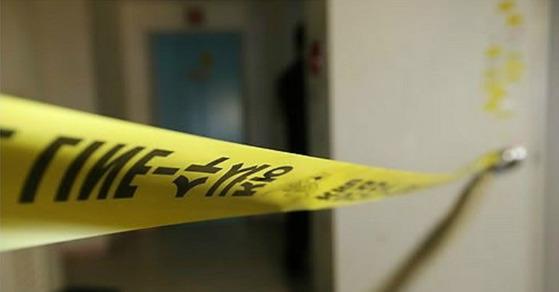 10일 오후 광주광역시 북구의 한 빌라에서 80대 노인이 아들을 살해한 뒤 음독한 사건이 발생했다. 사진은 폴리스 라인으로 기사와 관련이 없습니다. [연합뉴스]