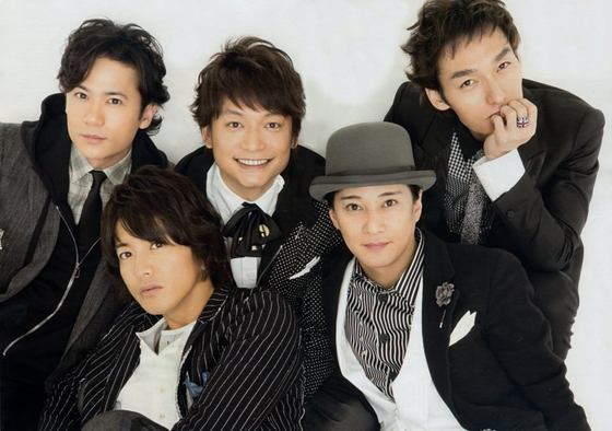 9일 사망한 쟈니 키타가와 사장이 배출한 대표적인 남성그룹 SMAP. 그룹은 2016년 해산했다. [중앙포토]