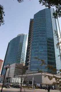 LG 베이징 트윈타워의 전경. [사진 LG전자]
