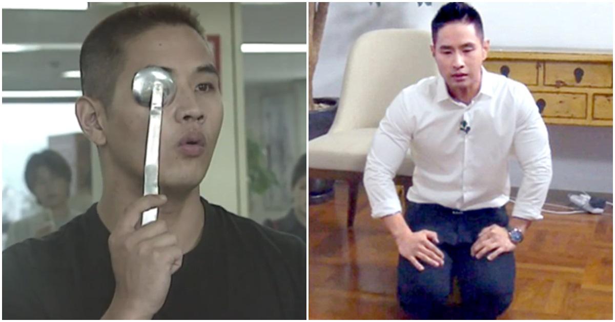 2001년 8월 군 입대를 위해 징병 검사를 받은 유승준씨(왼쪽)와 2015년 인터넷방송에 출연해 사죄한 유승준씨. [사진 KBS·아프리카TV 방송 캡처]