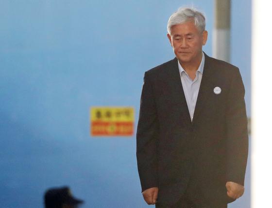 항소심 선고 마친 최경환 자유한국당 의원 [연합뉴스]