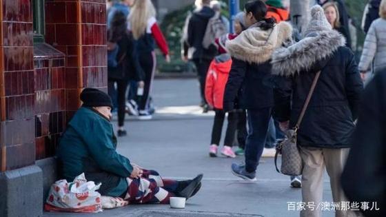 관광 비자를 받아 호주 멜버른까지 진출한 중국의 '직업 거지'로 중국이 골머리를 앓고 있다. [중국 인터넷 캡처]