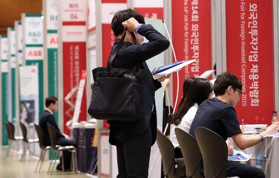 외국인 투자기업 채용박람회.[연합뉴스]
