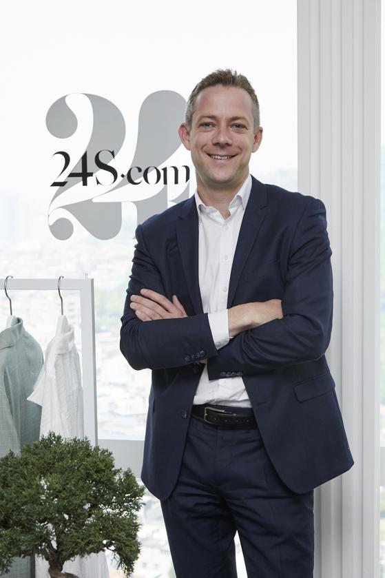 지난 5월23일 한국을 찾은 에릭 고게 24S CEO. [사진 24S]