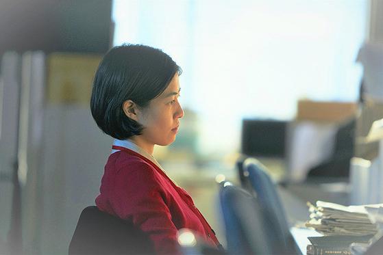 정치 스캔들을 다룬 일본영화 '신문기자'에서 주인공을 맡은 배우 심은경
