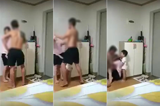 베트남 이주 여성을 무차별 폭행한 한국인 남편. [뉴스1]