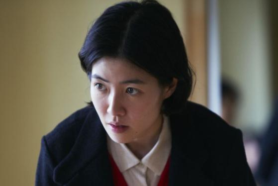 정치 스캔들을 다룬 일본영화 '신문기자'에 주인공으로 출연한 배우 심은경