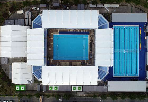세계수영선수권대회가 12일 개막한다. 사진은 수구 경기장. [연합뉴스]