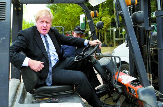 보리스 존슨 전 영국 외무장관은 23일쯤 새 영국 총리로 발표될 전망이다. [AFP=연합뉴스]