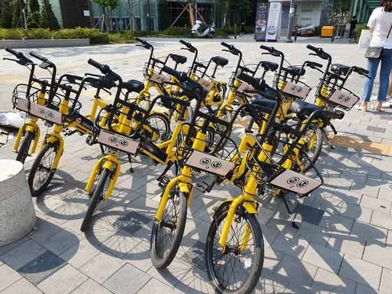 카카오모빌리티의 공유 전동 자전거. [사진 카카오모빌리티]