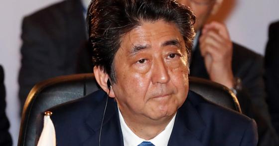 아베 신조 일본 총리. [청와대사진기자단]