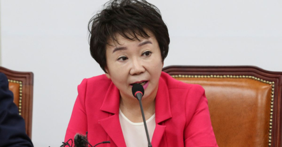 정미경 자유한국당 최고위원. 임현동 기자