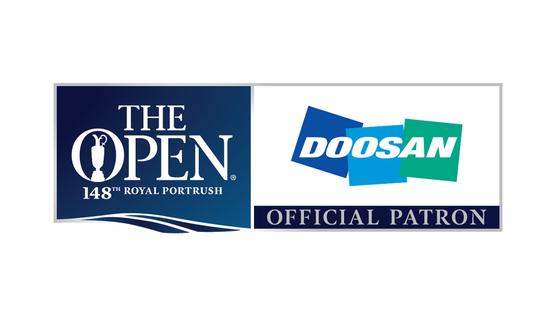 두산그룹은 세계 최고 권위의 남자 골프 메이저대회인 '디 오픈'에 10년째 공식 후원사로 참여하고 있다. 사진은 올해 디 오픈 로고. [사진 두산그룹]