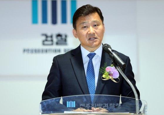 17일 사의를 표명한 윤웅걸 전주지검장(53·사법연수원 21기). [뉴스1]