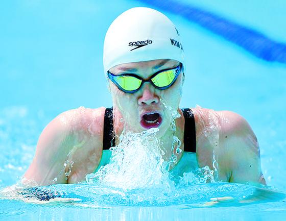 한국 수영의 '에이스' 김서영이 세계수영선수권에서 금메달에 도전한다. [뉴시스]