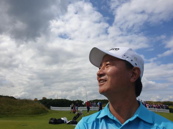 """45세 황인춘 """"내 골프 인생에 봄이 왔다"""""""
