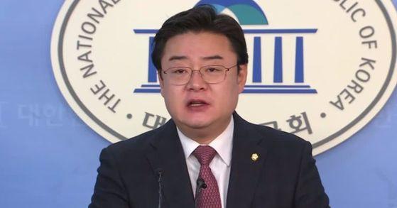 자유한국당 김성원(동두천·연천) 국회의원. [중앙포토]