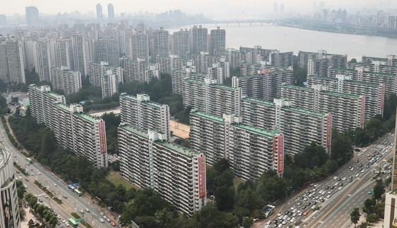 지난 14일 서울 송파구의 한 아파트 단지 전경 [연합뉴스]