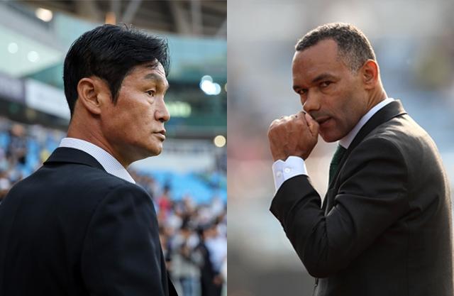 오는 20일 하나원큐 K리그1 2019 22라운드에서 최용수 감독이 이끄는 FC서울과 모라이스 감독이 이끄는 전북 현대가 맞대결을 펼친다. 두 팀의 올시즌 첫 번째 맞대결에선 전북이 2-1로 승리했다. 사진=한국프로축구연맹