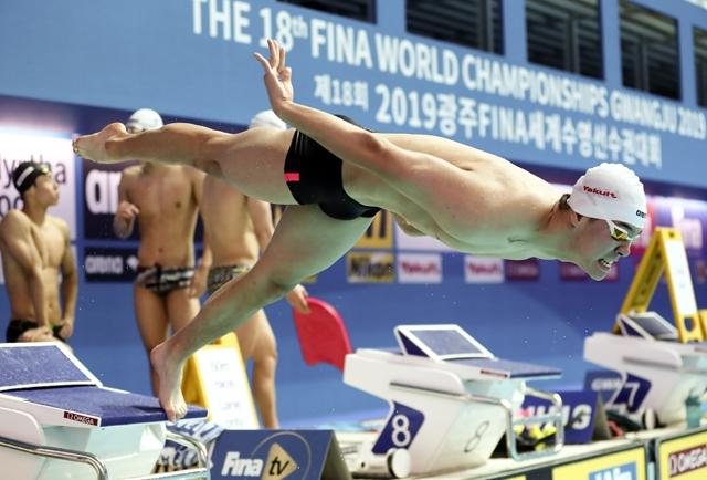 오는 21일부터 2019 FINA 세계수영선수권대회 경영이 본격적인 레이스를 시작한다. 사진=2019광주세계수영선수권대회조직위원회