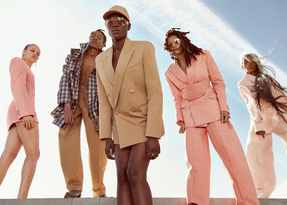 지난 5월 29일 공개된 LVMH의 새로운 브랜드 '펜티(FENTY)'의 기성복 컬렉션. [사진 펜티 홈페이지]